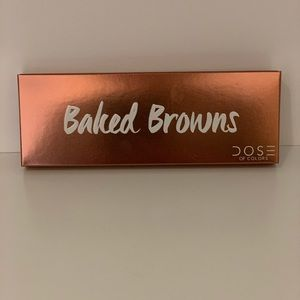 Baked Browns eyeshadows